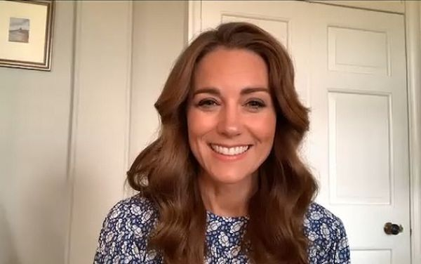Kate Middleton lead online assembly with students video message