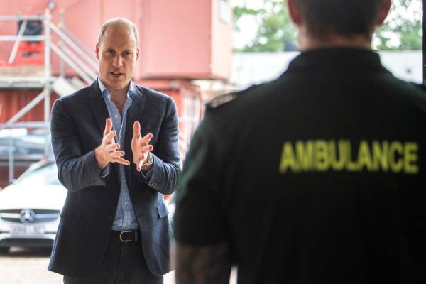 Prince William Attends First Public Engagement After COVID-19 Outbreak