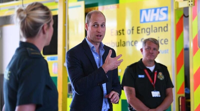 Prince William Attends First Public Engagement After COVID-19 Pandemic