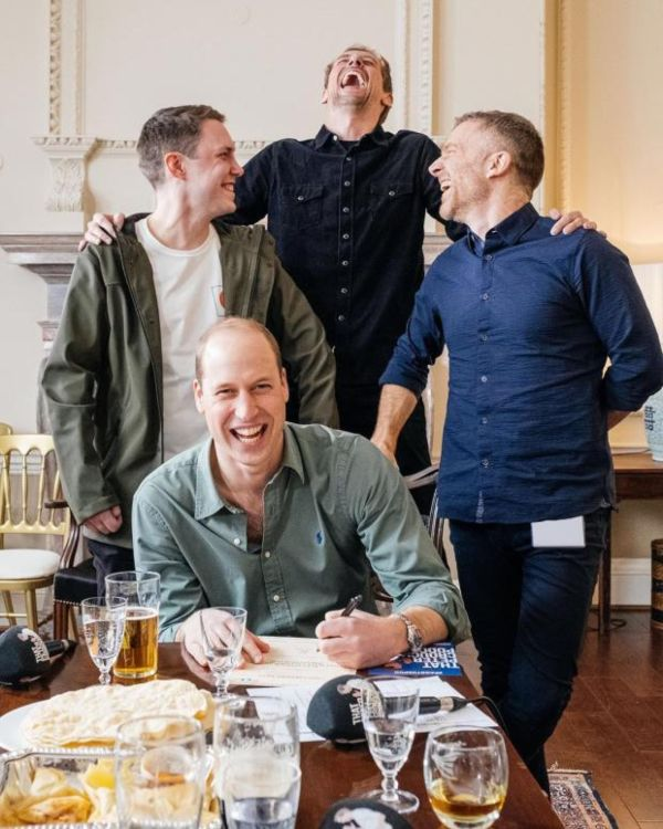 Prince William appearance on Peter Crouch's podcast