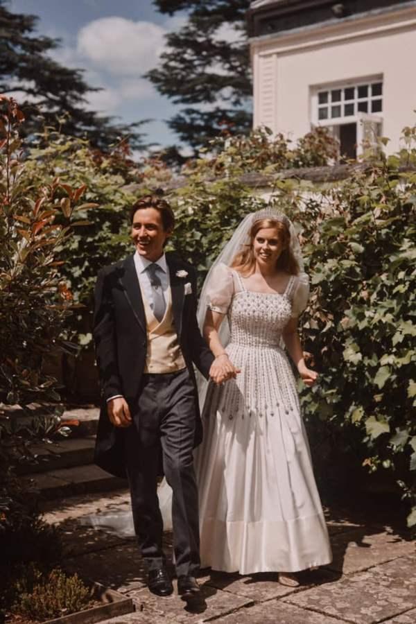 Princess Beatrice private wedding to Edo