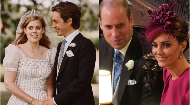 Why Prince William And Kate Didn't Attend Princess Beatrice Wedding