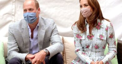 The Duke and Duchess of Cambridge made a visit to Shire Hall Care Home