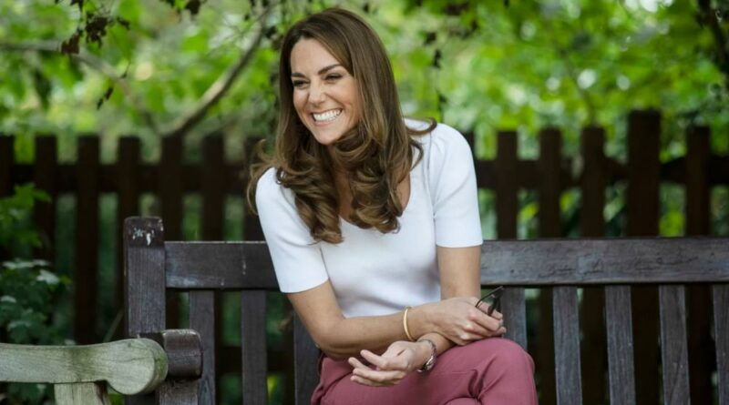 Kate Middleton, Duchess of Cambridge at a park