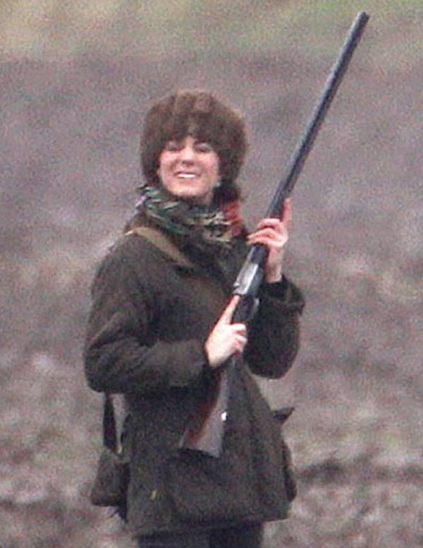 Prince George Watches Prince William On Scottish Grouse Shoot Kate Middleton