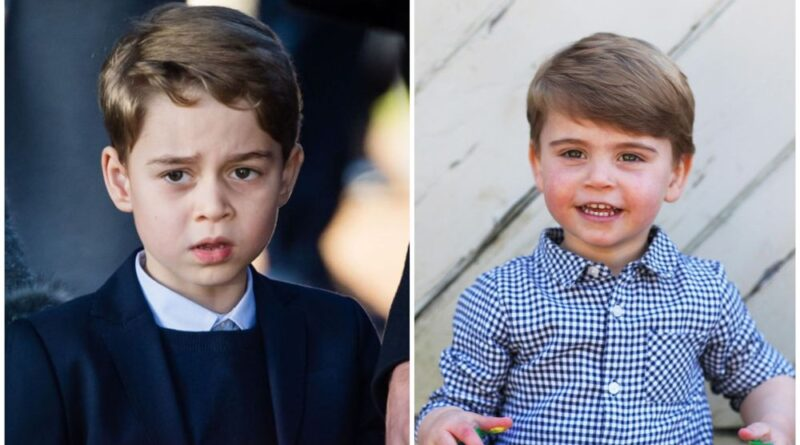 Prince George and Prince Louis