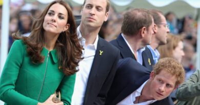 Wiliam, Kate and Harry