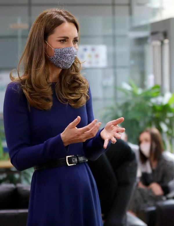 Duchess Of Cambridge Makes Emotional Visit To Pregnancy Charity