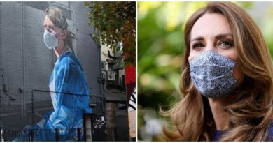 One Of Kate's Chosen Photos Has Been Made Into A Touching Mural (1)