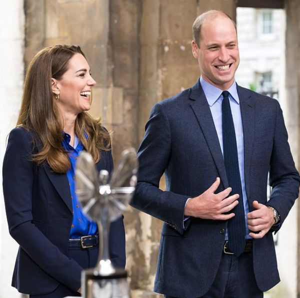 Prince William And Kate Present Pride Of Britain Award To NHS Workers
