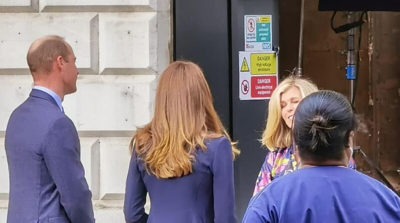 Prince William And Kate Spotted Filming For Pride Of Britain Awards 15