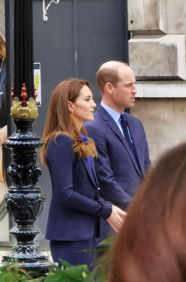 Prince William And Kate Spotted Filming For Pride Of Britain Awards