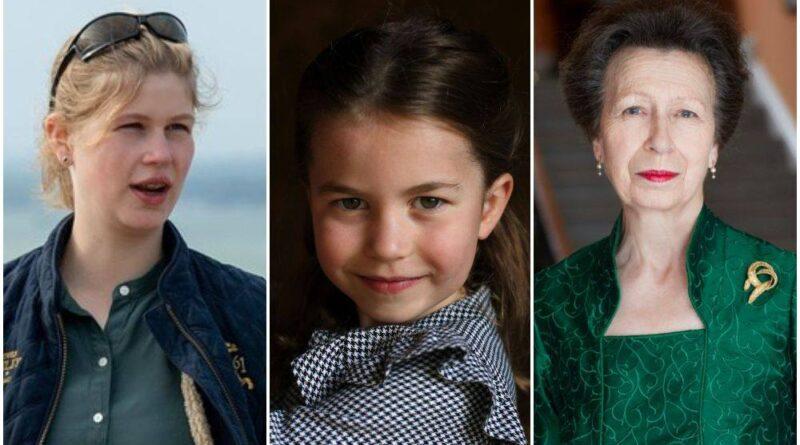 Princess Charlotte's Advantage Over Lady Louise And Princess Anne