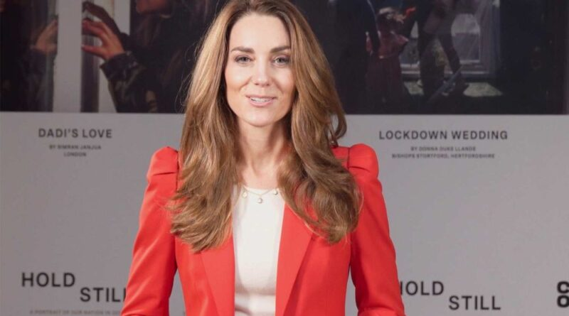 Duchess Kate Records Special Video To Mark End Of Hold Still Project 66
