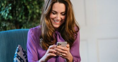 Kate Middleton Hold Iphone