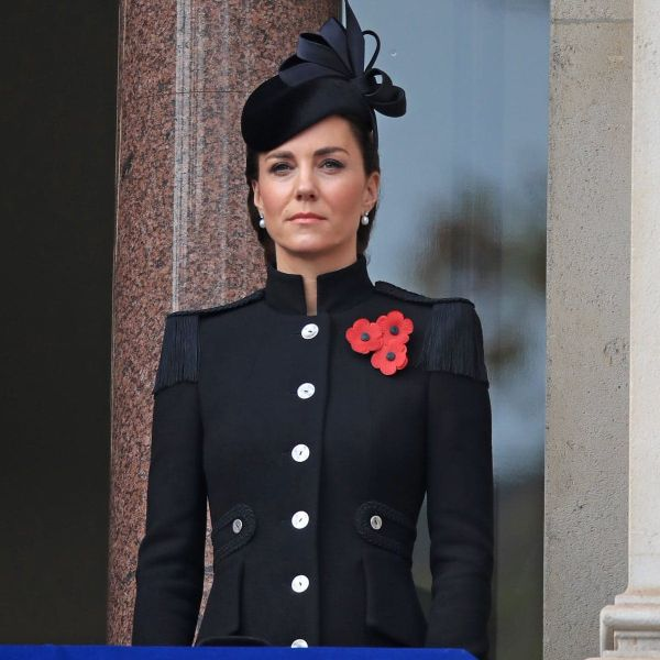 The Royal Family Reunite For A Scaled-back Remembrance Sunday