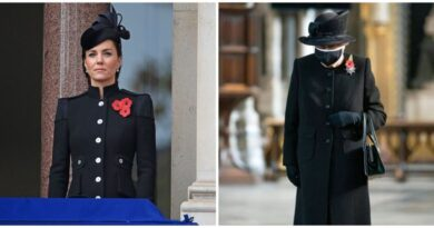 Why The Queen Didn't Stand With Kate And Camilla On Remembrance Sunday