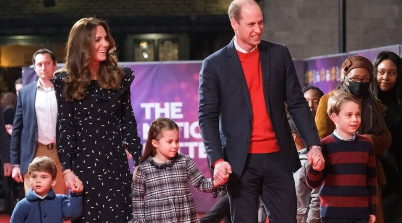 Prince William Kate George Charlotte and Louis