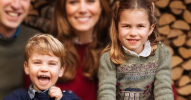 Princess Charlotte and Prince Louis Christmas Card 2020