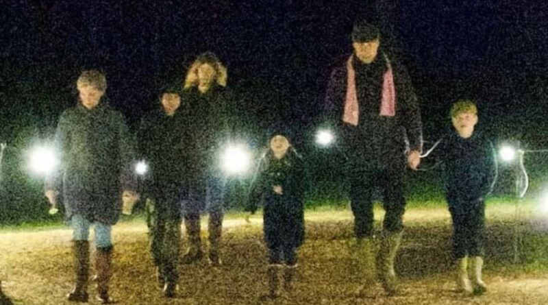 William, Kate And The Children Spotted Visiting Luminate George Charlotte