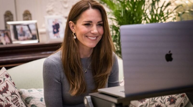 Duchess Kate Marks Holocaust Memorial Day With Emotional Chat With Two Survivors