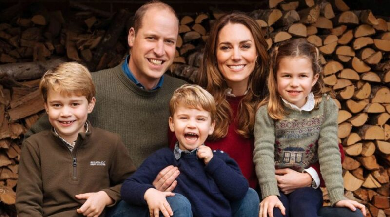 Prince William Kate George Charlotte Louis