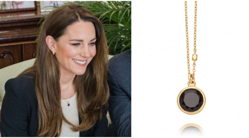 The Deep Significance Behind Duchess Kate Latest Necklace