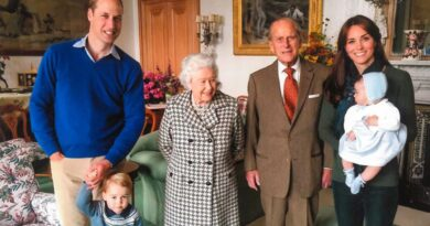 Prince William Kate The Queen Prince Philip George and Charlotte
