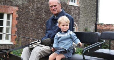 Prince William Released Unseen Photo Of Prince Philip And Prince George