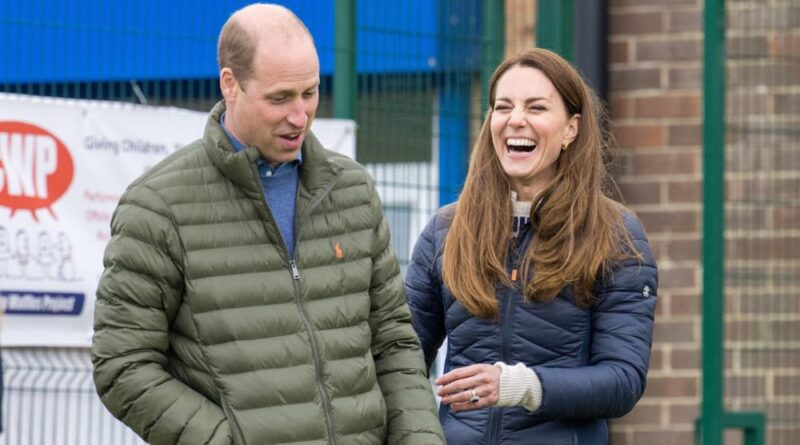 Prince William and Kate Middleton visit the Cheesy Waffles Project
