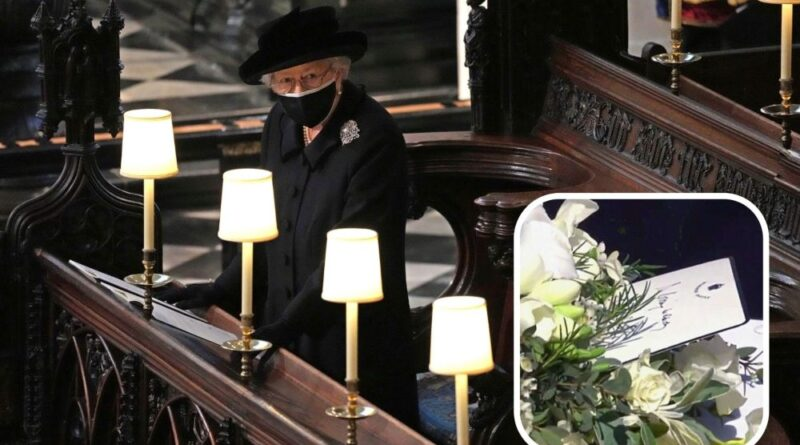 The Queen Left Heartbreaking Note For Prince Philip On His Coffin