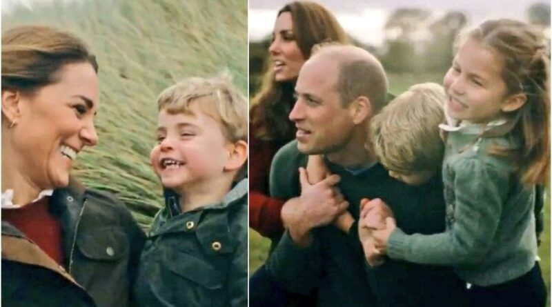 William And Kate Share Unseen Video With Their Children To Mark Wedding Anniversary
