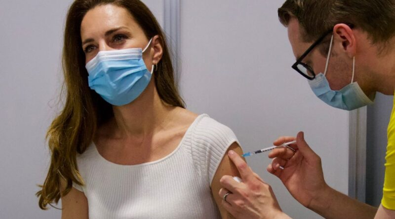 Duchess Kate Received First Dose Of Covid-19 Vaccine