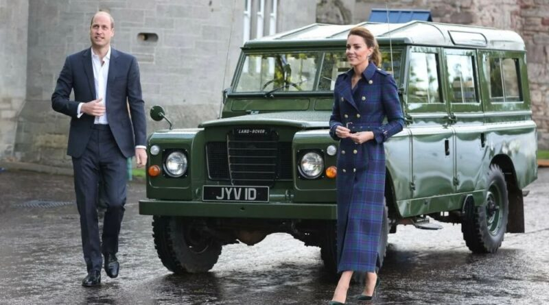 How Prince William And Kate Honored Prince Philip At Drive-In-Cinema Date
