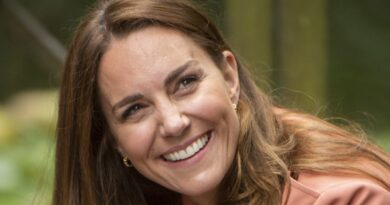 Duchess Kate was all smiles as she visited London's Natural History Museum to learn about