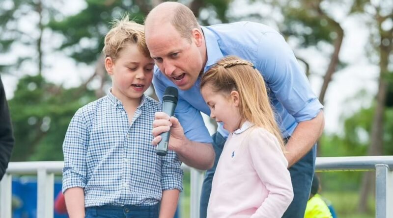 George And Charlotte Join Dad William To Kick Off A Half Marathon