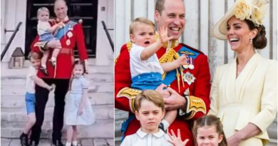 Kate Shares Unseen Snap Of William And The Kids To Mark Father's Day