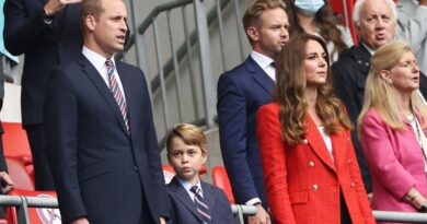 Prince George Joins Prince William And Kate For Euro Championships 2021