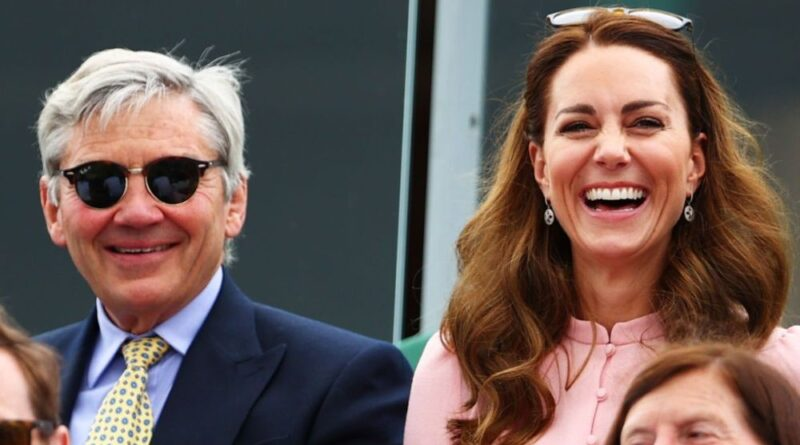 Kate joined by her father Michael Middleton at Wimbledon to watch men's final 22s final