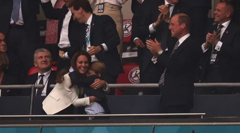 Prince George Proves To Be England's Lucky Charm As The Team Scores