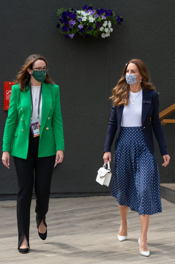 The Duchess of Cambridge was in attendance at Wimbledon 22
