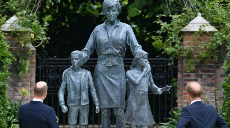 Who Are The Three Children Featured In Princess Diana Statue