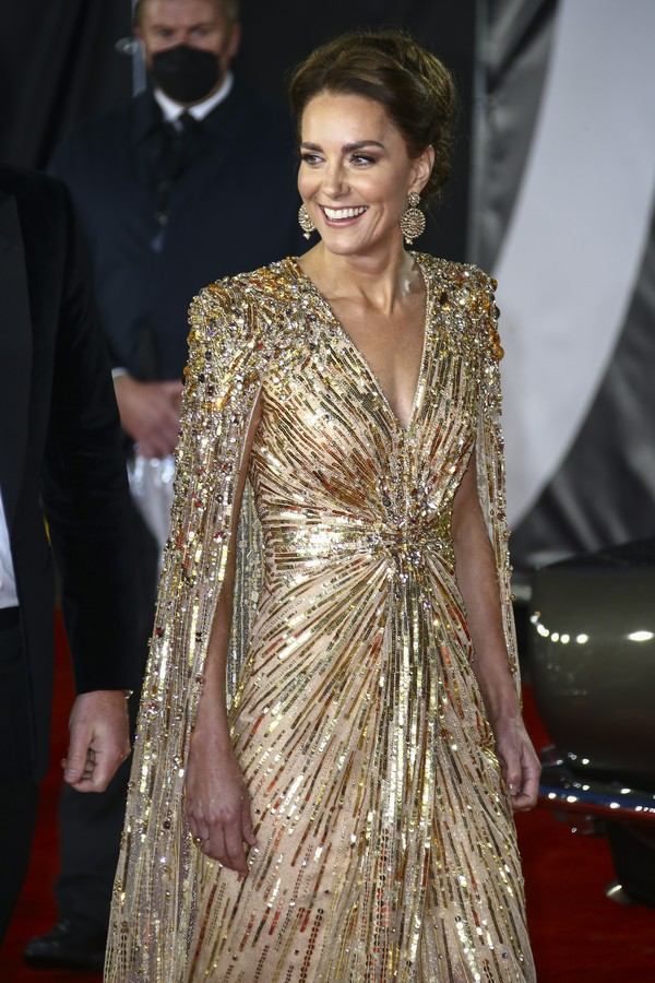 Kate Middleton on James Bond premier