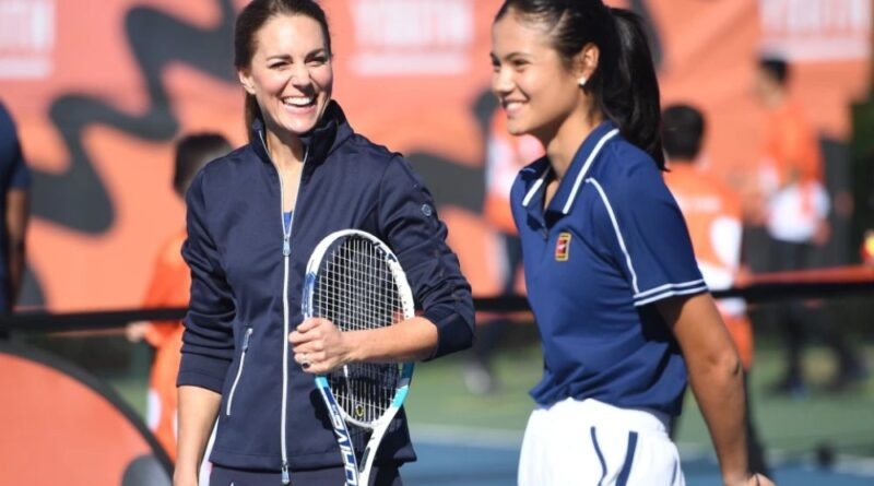 Kate Plays Tennis With Emma Raducanu At Special Homecoming Event
