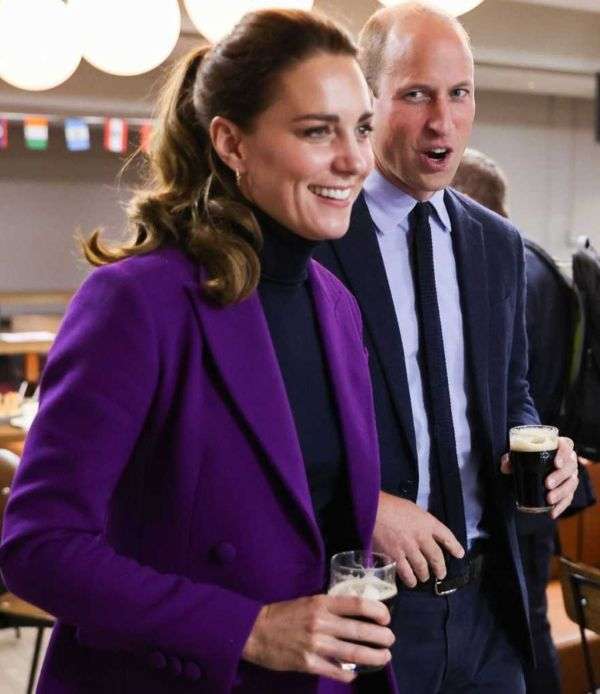 Prince William and Kate Middleton in North Ireland